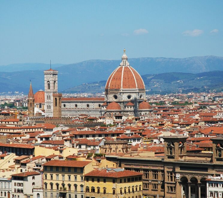 Florence Italy Italia Monuments Sculptures